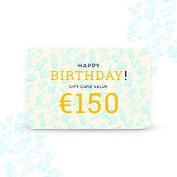 Gift card Tempter color    150.00 €