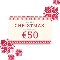 Gift card Tempter color    50.00 €