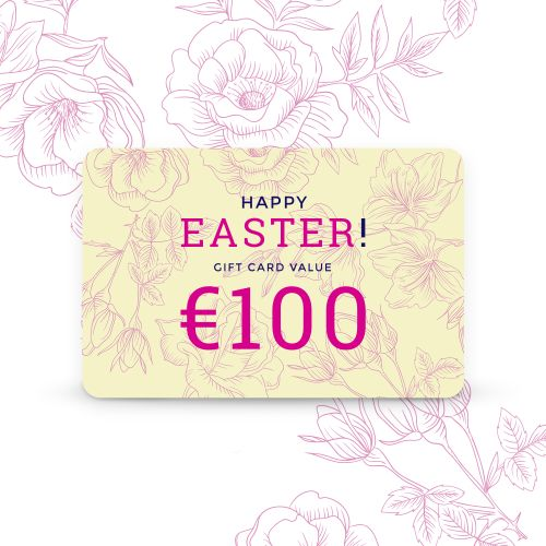 Tempter Gift Card 100 Euro Happy Easter Gift Card School Gc011