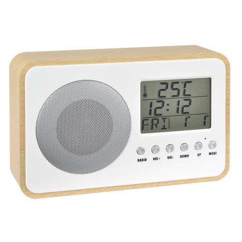 ▷ La Chaise Longue Alarm Clock Radio Oaky Wood Living Brown Prices Radio La Chaise Longue on