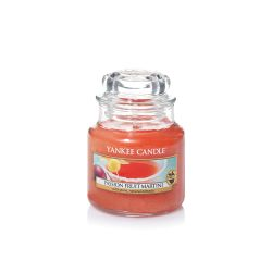 Scented candle Yankee Candle color orange   Passion Fruit Martini Small Jar online price for sale:  11.90 €