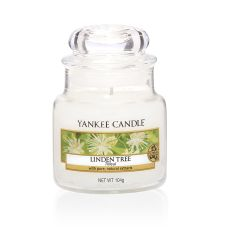 Scented candle Yankee Candle color white   Linden Tree Small Jar online price for sale:  11.90 €