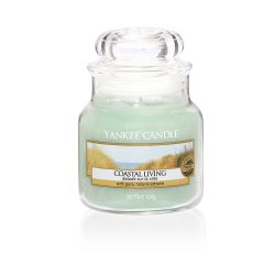 Scented candle Yankee Candle color green   Coastal LivingSmall Jar online price for sale:  11.90 €
