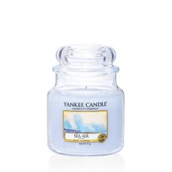 Scented candle Yankee Candle color light blue   Sea Air Medium Jar online price for sale:  24.90 €