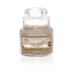 Scented candle Yankee Candle color brown   Driftwood Small Jar online price for sale:  11.90 €