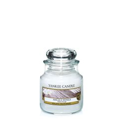 Scented candle Yankee Candle color white   Angel's Wings Small Jar online price for sale:  8.93 €