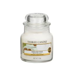 Scented candle Yankee Candle color white   Shea Butter Small Jar online price for sale:  11.90 €