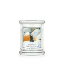 Scented candle Kringle Candle color white   White Pumpkin PREMIUM online price for sale:  9.95 €