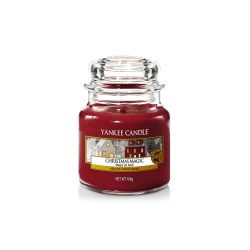 Scented candle Yankee Candle color red   Christmas Magic Small Jar online price for sale:  11.90 €