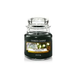 Scented candle Yankee Candle color green   The Perfect Tree Small Jar online price for sale:  8.33 €