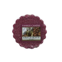 Scented candle Yankee Candle color brown   Moroccan Argan Oil Wax Melt online price for sale:  1.57 €