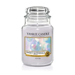 Scented candle Yankee Candle color grey   Sweet Nothings Large Jar online price for sale:  29.90 €