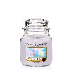 Scented candle Yankee Candle color grey   Sweet Nothings Medium Jar online price for sale:  24.90 €