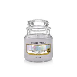 Scented candle Yankee Candle color grey   Sweet Nothings Small Jar online price for sale:  11.90 €