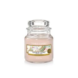 Scented candle Yankee Candle color pink   Rainbow Cookie Small Jar online price for sale:  11.90 €