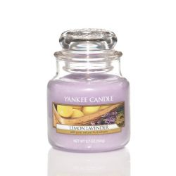 Scented candle Yankee Candle color violet   Lemon Lavender Small Jar online price for sale:  11.90 €