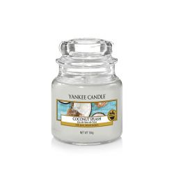 Scented candle Yankee Candle color white   Coconut Splash Small Jar online price for sale:  11.90 €