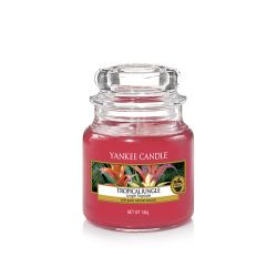 Scented candle Yankee Candle color red   Tropical Jungle Small Jar online price for sale:  11.90 €