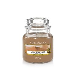 Scented candle Yankee Candle color brown   Warm Desert Wind Small Jar online price for sale:  11.90 €