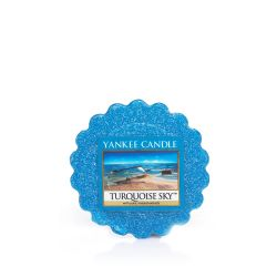 Scented candle Yankee Candle color blue   Turquoise Sky Wax Melt online price for sale:  1.57 €