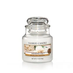 Scented candle Yankee Candle color white   Wedding Day Small Jar online price for sale:  11.90 €