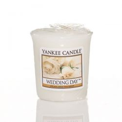 Scented candle Yankee Candle color white   Wedding Day Votive Candle online price for sale:  2.65 €