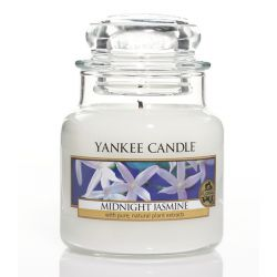 Scented candle Yankee Candle color white   Midnight Jasmine Small Jar online price for sale:  11.90 €