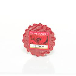 Scented candle Yankee Candle color red   True Rose Wax Melt online price for sale:  1.57 €