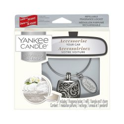 Fragrances for cars Yankee Candle color white   Charming Scents KIT SQUARE online price for sale:  11.99 €