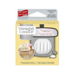 Fragrances for cars Yankee Candle color white   Charming Scents REFILL Vanilla Cupcake online price for sale:  6.99 €