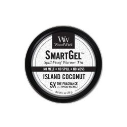 Diffusori WoodWick color black   Smart gel ISLAND COCONUT online price for sale:  11.90 €