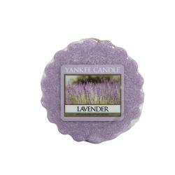 Scented candle Yankee Candle color violet   Lavender Wax Melt online price for sale:  1.57 €