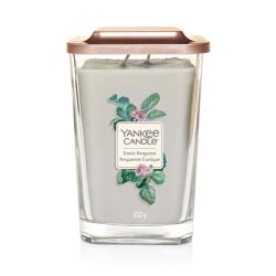 Scented candle Yankee Candle color grey   Exotic Bergamot Large Jar online price for sale:  29.90 €