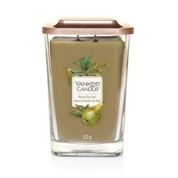 Scented candle Yankee Candle color green   Pear & Tea Leaf Large Jar online price for sale:  29.90 €