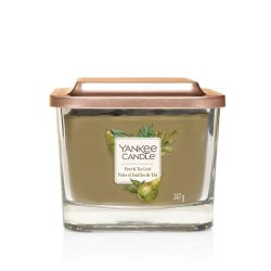 Scented candle Yankee Candle color green   Pear & Tea Leaf Medium Jar online price for sale:  24.90 €