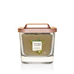 Scented candle Yankee Candle color green   Pear & Tea Leaf Small Jar online price for sale:  11.90 €