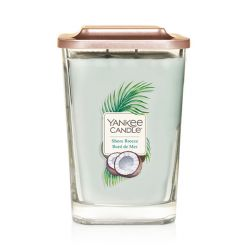 Scented candle Yankee Candle color light blue   Shore Breeze Large Jar online price for sale:  29.90 €