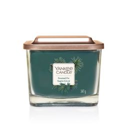 Scented candle Yankee Candle color blue   Frosted Fir Medium Jar online price for sale:  24.90 €
