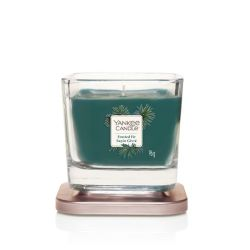 Scented candle Yankee Candle color blue   Frosted Fir Small Jar online price for sale:  11.90 €