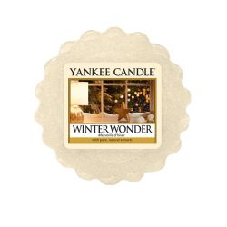 Scented candle Yankee Candle color beige   Winter Wonder Wax Melt online price for sale:  2.25 €