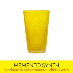 Living Memento color yellow   SYNTH Yellow Transparent online price for sale:  7.90 €
