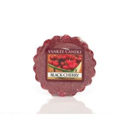 Scented candle Yankee Candle color red   Black Cherry Wax Melt online price for sale:  2.25 €