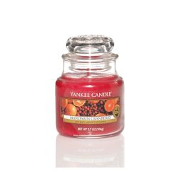Scented candle Yankee Candle color red   Mandarin Cranberry Small Jar online price for sale:  11.90 €