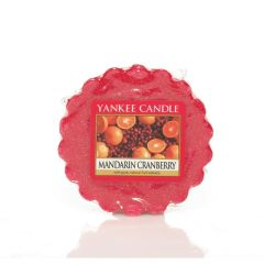 Scented candle Yankee Candle color red   Mandarin Cranberry Wax Melt online price for sale:  2.25 €
