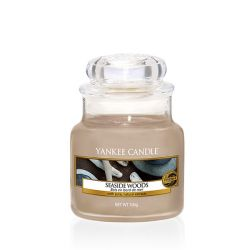 Scented candle Yankee Candle color beige   Seaside Woods Small Jar online price for sale:  11.90 €