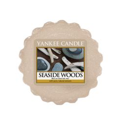 Scented candle Yankee Candle color beige   Seaside Woods Wax Melt online price for sale:  2.25 €