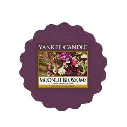 Scented candle Yankee Candle color violet   Moonlit Blossoms Wax Melt online price for sale:  2.25 €