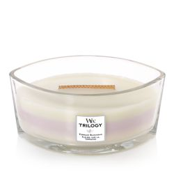 Scented candle WoodWick color multicolor   Ellipse Candle Trilogy TERRACE BLOSSOM online price for sale:  36.90 €
