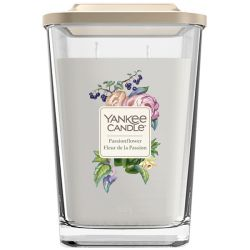 Scented candle Yankee Candle color grey   Passion flower Large Jar online price for sale:  29.90 €
