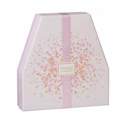 Scented candle Yankee Candle color pink   Gift Set Fragranza online price for sale:  24.90 €